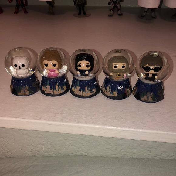 Harry Potter Snowglobes